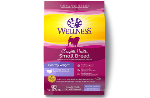 Wellness Complete Health Small Breed Healthy Weight Dog Food