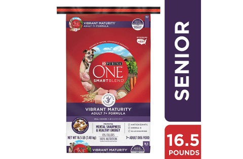 Purina One SmartBlend Vibrant Maturity Senior