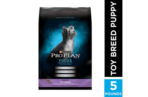 Purina Pro Plan Focus Toy Breed Puppy Food